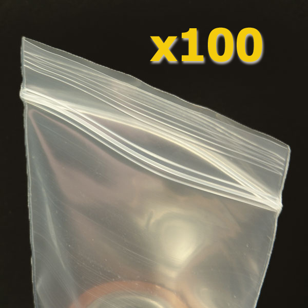100 4 x 6 plastic ziplock bags 4 mil ziploc heavy duty fda usda ok ebay. Black Bedroom Furniture Sets. Home Design Ideas